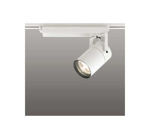 ☆ODELIC LEDスポットライト 配線ダクトレール用 CDM-T70W相当 オフホワイト 23° 電球色 3000K  調光非対応 XS511111