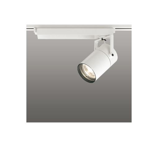 ☆ODELIC LEDスポットライト 高彩色タイプ 配線ダクトレール用 CDM-T70W相当 オフホワイト 23° 電球色 3000K  専用調光リモコン対応(リモコン別売) XS511111HBC