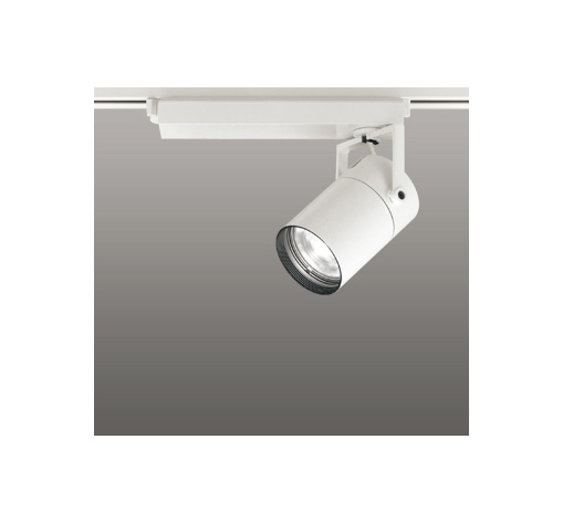 ☆ODELIC LEDスポットライト 高彩色タイプ 配線ダクトレール用 CDM-T70W相当 オフホワイト 33° 白色 4000K  調光非対応 XS511113H