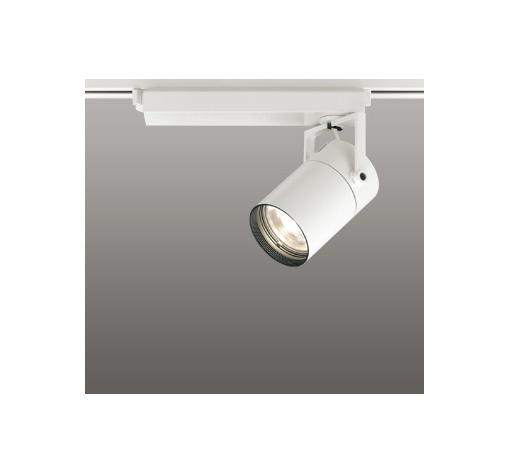 ☆ODELIC LEDスポットライト 配線ダクトレール用 CDM-T70W相当 オフホワイト 33° 電球色 3000K  調光非対応 XS511117