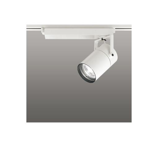 ☆ODELIC LEDスポットライト 配線ダクトレール用 CDM-T70W相当 オフホワイト 61° 温白色 3500K  調光非対応 XS511121