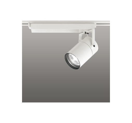 ☆ODELIC LEDスポットライト 高彩色タイプ 配線ダクトレール用 CDM-T70W相当 オフホワイト スプレッド 白色 4000K  専用調光リモコン対応(リモコン別売) XS511125HBC