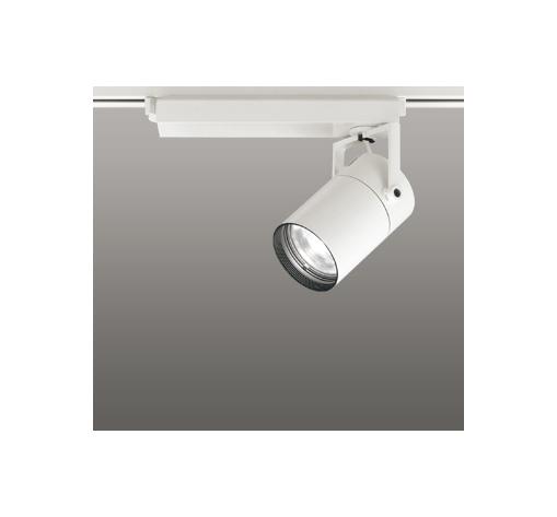 ☆ODELIC LEDスポットライト 配線ダクトレール用 CDM-T70W相当 オフホワイト スプレッド 温白色 3500K  調光非対応 XS511127