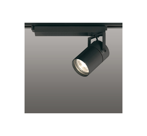 ☆ODELIC LEDスポットライト 配線ダクトレール用 CDM-T70W相当 ブラック スプレッド 電球色 3000K  専用調光リモコン対応(リモコン別売) XS511130BC