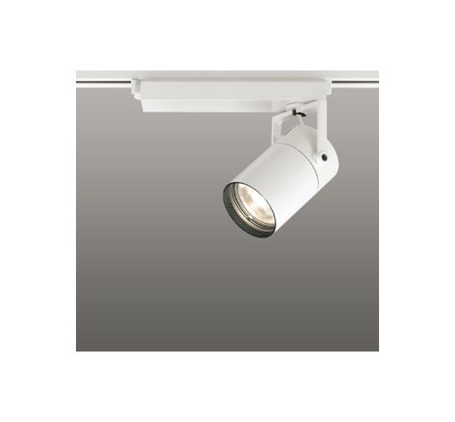 ☆ODELIC LEDスポットライト 高彩色タイプ 配線ダクトレール用 CDM-T35W相当 オフホワイト 16° 電球色 3000K  専用調光リモコン対応(リモコン別売) XS512105HBC