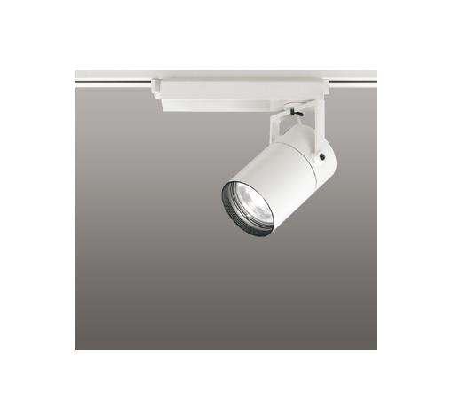 ☆ODELIC LEDスポットライト 配線ダクトレール用 CDM-T35W相当 オフホワイト 23° 白色 4000K  調光非対応 XS512109