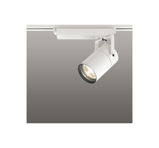 ☆ODELIC LEDスポットライト 高彩色タイプ 配線ダクトレール用 CDM-T35W相当 オフホワイト 23° 電球色 3000K  専用調光器対応 XS512113HC