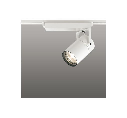 ☆ODELIC LEDスポットライト 配線ダクトレール用 CDM-T35W相当 オフホワイト 23° 電球色 2700K  調光非対応 XS512115H
