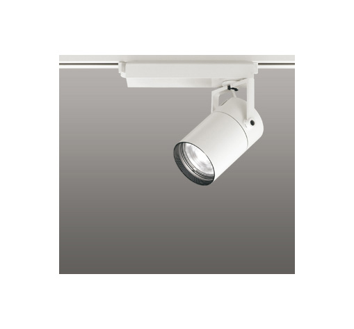 ☆ODELIC LEDスポットライト 高彩色タイプ 配線ダクトレール用 CDM-T35W相当 オフホワイト 33° 白色 4000K  専用調光器対応 XS512117HC