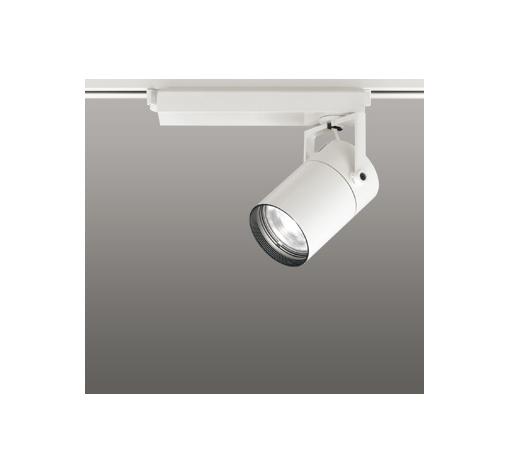 ☆ODELIC LEDスポットライト 配線ダクトレール用 CDM-T35W相当 オフホワイト 33° 温白色 3500K  専用調光リモコン対応(リモコン別売) XS512119BC