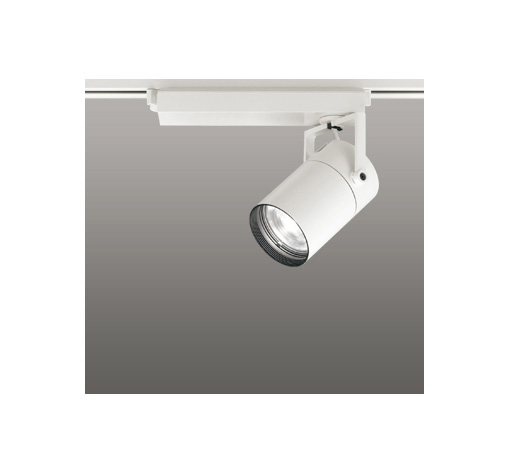 ☆ODELIC LEDスポットライト 高彩色タイプ 配線ダクトレール用 CDM-T35W相当 オフホワイト 33° 温白色 3500K  専用調光リモコン対応(リモコン別売) XS512119HBC