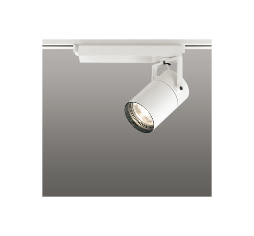 ☆ODELIC LEDスポットライト 配線ダクトレール用 CDM-T35W相当 オフホワイト 33° 電球色 3000K  専用調光リモコン対応(リモコン別売) XS512121BC