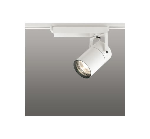 ☆ODELIC LEDスポットライト 配線ダクトレール用 CDM-T35W相当 オフホワイト 62° 電球色 3000K  専用調光器対応 XS512129C