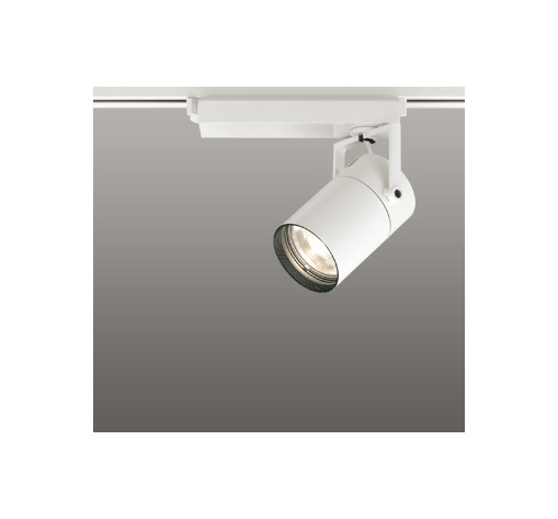 ☆ODELIC LEDスポットライト 高彩色タイプ 配線ダクトレール用 CDM-T35W相当 オフホワイト 62° 電球色 3000K  調光非対応 XS512129H