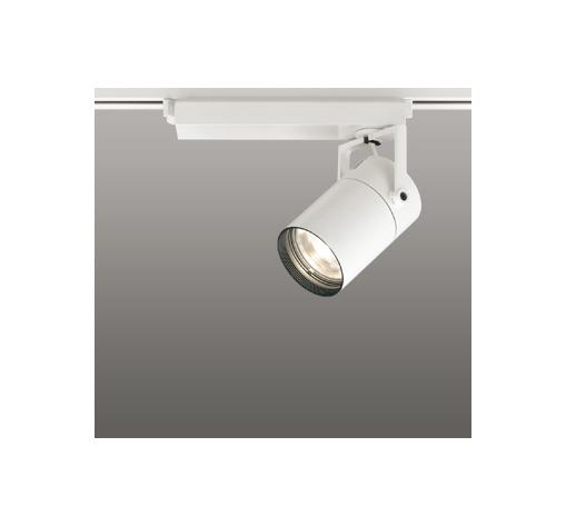 ☆ODELIC LEDスポットライト 配線ダクトレール用 CDM-T35W相当 オフホワイト 62° 電球色 2700K  専用調光リモコン対応(リモコン別売) XS512131HBC