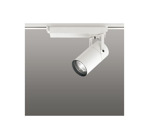 ☆ODELIC LEDスポットライト 配線ダクトレール用 CDM-T35W相当 オフホワイト 16° 温白色 3500K  調光非対応 XS513103