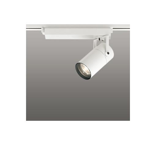 ☆ODELIC LEDスポットライト 配線ダクトレール用 CDM-T35W相当 オフホワイト 24° 電球色 3000K  専用調光リモコン対応(リモコン別売) XS513113BC