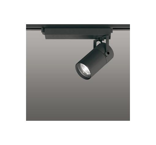 ☆ODELIC LEDスポットライト 配線ダクトレール用 CDM-T35W相当 ブラック 33° 白色 4000K  専用調光リモコン対応(リモコン別売) XS513118BC