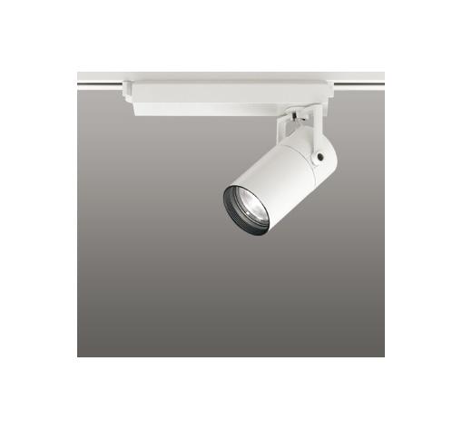 ☆ODELIC LEDスポットライト 配線ダクトレール用 CDM-T35W相当 オフホワイト 45° 白色 4000K  専用調光リモコン対応(リモコン別売) XS513125BC