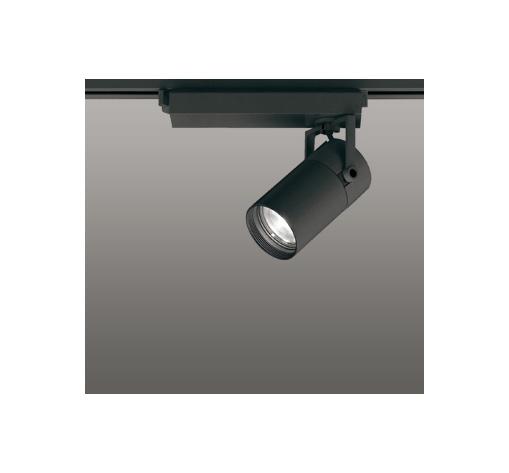 ☆ODELIC LEDスポットライト 高彩色タイプ 配線ダクトレール用 CDM-T35W相当 ブラック 45° 温白色 3500K  調光非対応 XS513128H