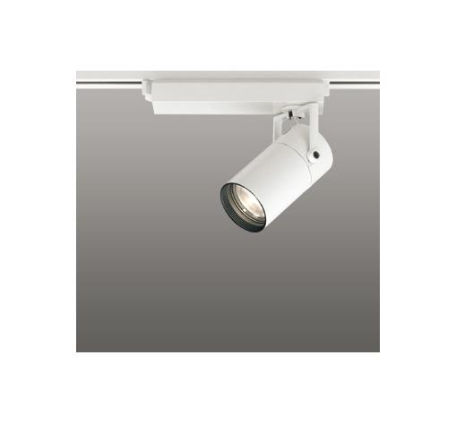 ☆ODELIC LEDスポットライト 高彩色タイプ 配線ダクトレール用 CDM-T35W相当 オフホワイト 45° 電球色 3000K  調光非対応 XS513129H