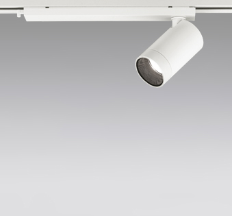 ☆ODELIC LEDスポットライト 配線ダクトレール用 JR12V50W相当 オフホワイト 16° 温白色 3500K  調光非対応 XS613101H