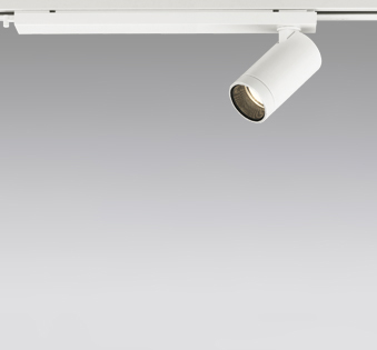 ☆ODELIC LEDスポットライト 配線ダクトレール用 JDR110V75W相当 オフホワイト 19° 電球色 3000K  専用調光器対応 XS614105HC