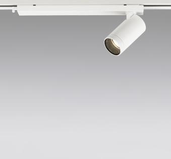 ☆ODELIC LEDスポットライト 配線ダクトレール用 JDR110V75W相当 オフホワイト 19° 電球色 2700K  調光非対応 XS614109H