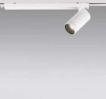 ☆ODELIC LEDスポットライト 配線ダクトレール用 JDR110V75W相当 オフホワイト 19° 電球色 2700K  専用調光器対応 XS614109HC