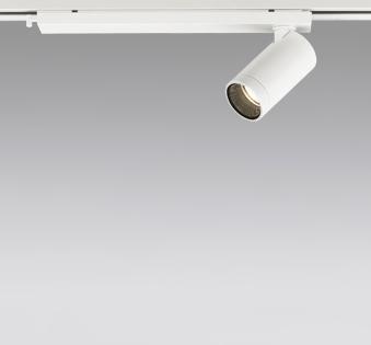 ☆ODELIC LEDスポットライト 配線ダクトレール用 JDR110V75W相当 オフホワイト 30° 電球色 2700K  調光非対応 XS614111H