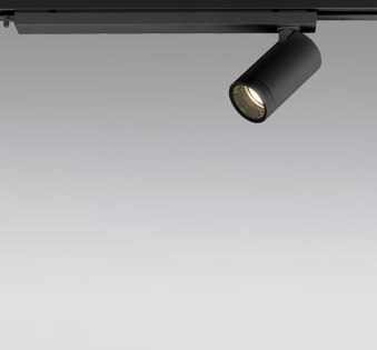 ☆ODELIC LEDスポットライト 配線ダクトレール用 JDR110V75W相当 ブラック 19° 電球色 2500K  専用調光器対応 XS614114HC
