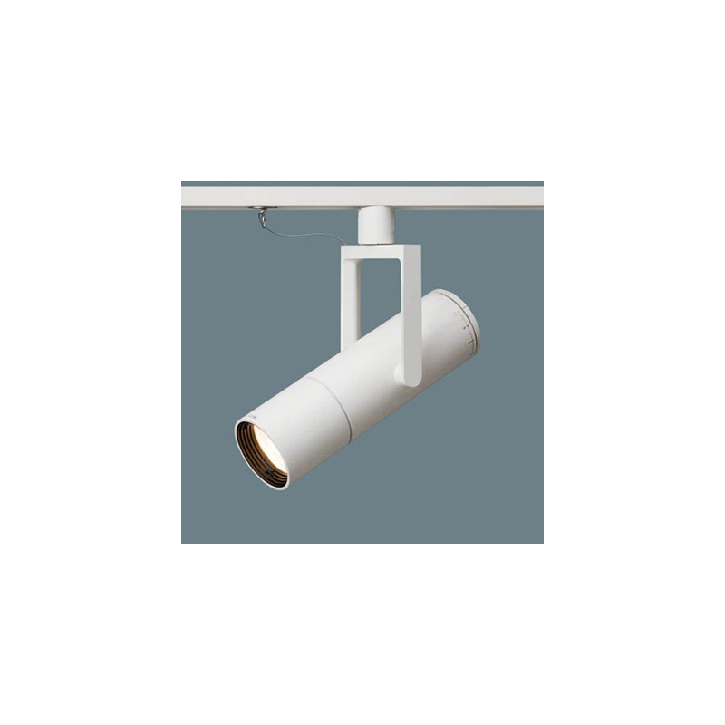 ☆パナソニック LED照明器具 配線ダクトレール用 美術館・博物館向け LED高演色スポットライト 個別調光タイプ J12V75形(50W)器具相当 狭角12° 電球色(2700K) LED内蔵 本体色:ホワイト NNQ32074WLE1 ※受注生産