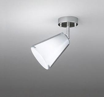 ☆ODELIC LEDスポットライト 直付け用(フレンジタイプ) LED電球一般形 E26口金 昼白色(ランプ付き) 白熱灯60W相当 専用調光器対応 100V OS047299NC
