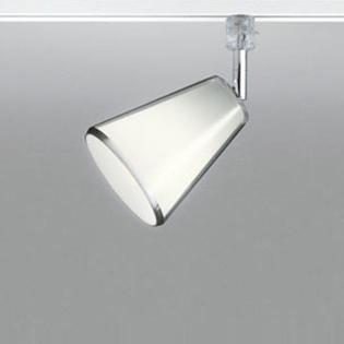 ☆ODELIC 配線ダクトレール用 LEDスポットライト LED電球一般形 Bluetooth 調光・調色 E26口金 電球色~昼光色 白熱灯100W相当(ランプ付き) 壁面取付可能型 拡散配光133° 100V OS047300BC