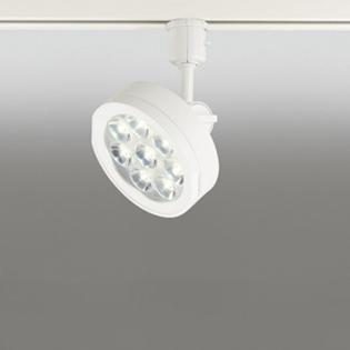 ☆ODELIC 配線ダクトレール用 LEDスポットライト LED一体型 JDR75W相当 電球色 壁面取付可能型 ミディアム配光19° 100V OS256012