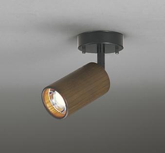 ☆ODELIC LEDスポットライト 直付け用(フレンジタイプ) LEDミニクリプトン形 E17口金 電球色(ランプ付き) 白熱灯60W相当 非調光 拡散配光 100V OS256059LD