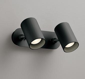 ☆ODELIC LEDスポットライト 直付け用(フレンジタイプ) LED電球ミニクリプトンレフ形 白熱灯60W相当×2灯 E17口金(ランプ付) 電球色 ワイド配光 非調光 100V OS256502LD