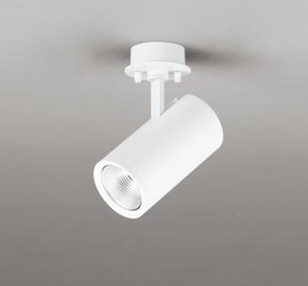 ☆ODELIC LEDスポットライト 直付け用(フレンジタイプ) LED一体型 白熱灯100W相当 専用調光器対応 昼白色 ミディアム配光 100V OS256503