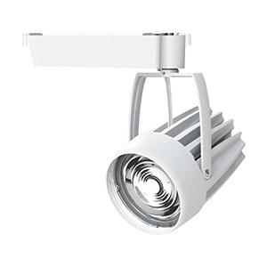 ☆OKAMURA 配線ダクトレール用 LEDスポットライト エコ之助スーパー鮮度クン LED54W 青果・花向け ナロー配光(Nレンズ) 高演色・高彩度 本体色:白 OECD3SRHN50(Nレンズ)+青果・花用フィルター