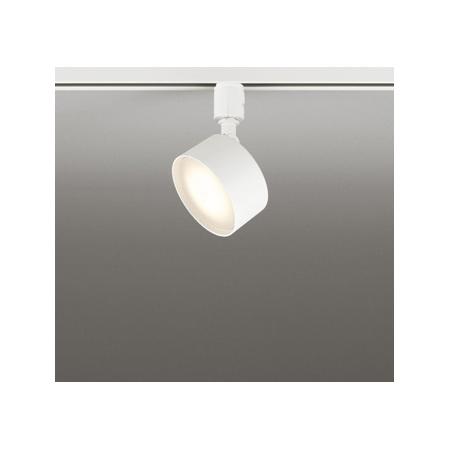 ☆ODELIC 配線ダクトレール用 LEDスポットライト 白熱灯60W相当 LED電球フラット形(ランプ付) 電球色~昼光色・フルカラー Bluetooth調光・調色 壁面取付可能型 配光109° 専用リモコン対応(別売) OS256571BR