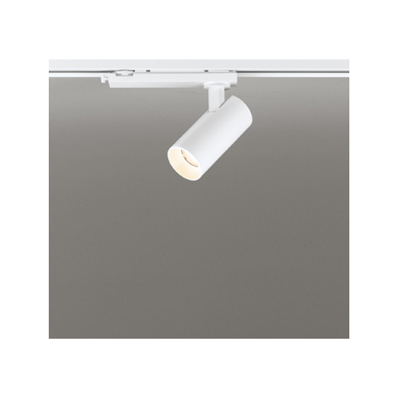 ☆ODELIC 配線ダクトレール用 LEDスポットライト JDR50W相当 LED一体型 電球色(2700K) Bluetooth調光 壁面取付可能型 配光42° 専用リモコン対応(別売) OS256621BC