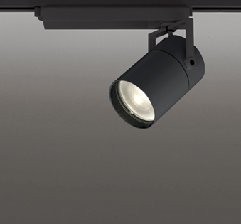 ☆ODELIC LEDスポットライト TUMBLER 高彩色タイプ 配線ダクトレール用 CDM-T150W相当 ブラック 35° 45VA 電球色 3000K 専用調光リモコン対応(リモコン別売) XS511148HBC