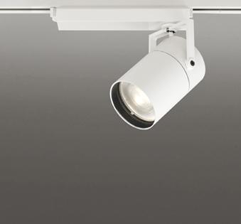 ☆ODELIC LEDスポットライト TUMBLER 高効率タイプ 配線ダクトレール用 CDM-T150W相当 オフホワイト 71° 45VA 電球色 3000K 調光非対応 XS511153