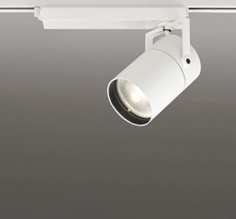 ☆ODELIC LEDスポットライト TUMBLER 高効率タイプ 配線ダクトレール用 CDM-T150W相当 オフホワイト 71° 45VA 電球色 3000K 専用調光リモコン対応(リモコン別売) XS511153BC