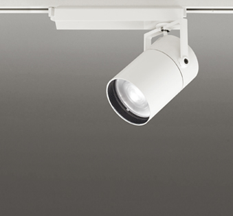 ☆ODELIC LEDスポットライト TUMBLER 高彩色タイプ 配線ダクトレール用 CDM-T150W相当 オフホワイト スプレッド 45VA 白色 4000K 調光非対応 XS511155H