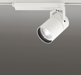 ☆ODELIC LEDスポットライト TUMBLER 高彩色タイプ 配線ダクトレール用 CDM-T150W相当 オフホワイト スプレッド 45VA 白色 4000K 専用調光リモコン対応(リモコン別売) XS511155HBC