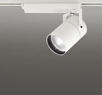 ☆ODELIC LEDスポットライト TUMBLER 高彩色タイプ 配線ダクトレール用 CDM-T150W相当 オフホワイト スプレッド 45VA 温白色 3500K 調光非対応 XS511157H