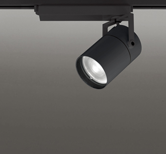 ☆ODELIC LEDスポットライト TUMBLER 高彩色タイプ 配線ダクトレール用 CDM-T150W相当 ブラック スプレッド 45VA 温白色 3500K 調光非対応 XS511158H
