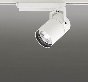 ☆ODELIC LEDスポットライト TUMBLER 高効率タイプ 配線ダクトレール用 CDM-T70W相当 オフホワイト 8° 32VA 白色 4000K 専用調光リモコン対応(リモコン別売) XS513181BC