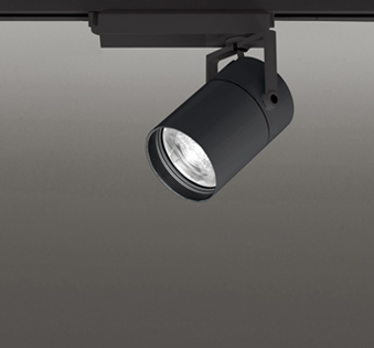 ☆ODELIC LEDスポットライト TUMBLER 高効率タイプ 配線ダクトレール用 CDM-T70W相当 ブラック 8° 32VA 温白色 3500K 調光非対応 XS513184